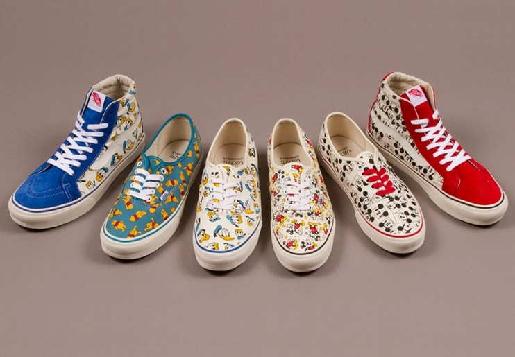 Vans Vault x Sneaker Disney Collection